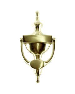 Llamador puerta lisa 200x90mm laton ingles-10018 micel