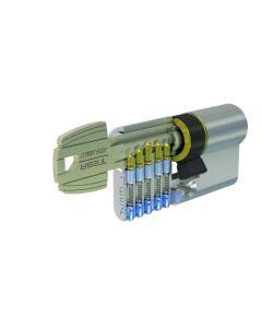 Cilindro leva corta 30x50mm niquel 52003050n tesa 52003050n