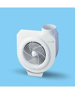 Extractor cocina centrifugo bandeja recogegrasa 480m3/h acero blanco s&p