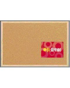Tablon anuncios 40x30cm safor kit corcho mc-1