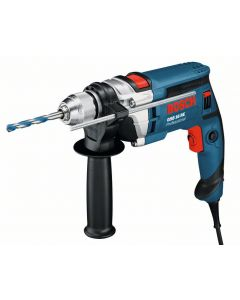 Taladro percutor 750w reversible sin llave maletin 16 mm gsb16re bosch
