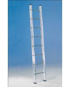 Escalera industrial 1 tramo 12 peldaños 3,50mt aluminio svelt