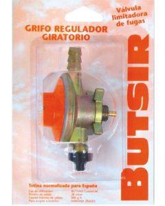 Grifo camping regulador gas giratorio 28 gr butsir repu0001