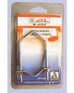 Abrazadera fijacion 10cm mastil antena tv engel axil acero ac-731 ac0731