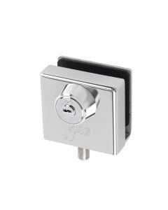 Cerradura puerta cristal inox sag seguridad aacc5003