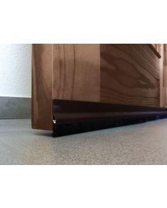 Burlete bajo puerta 092cm adhesivo burcasa aluminio bronce cepillo 127460