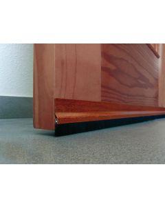 Burlete bajo puerta adhesivo cepillo 092cm aluminio sapeli burcasa 127500