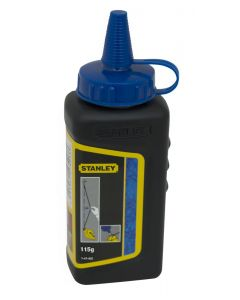 Polvo trazador stanley azul ma azulete 115 gr 1-47-403