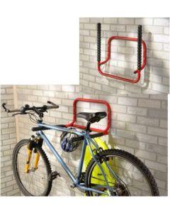 Soporte bicicleta plegable 2 bicicletas pared mottez