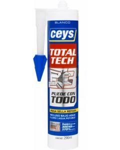 Adhesivo sellador polimero ceys 290 ml blanco 507216