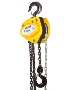 Polipasto elevacion manual cadena profesional 1000kg ayerbe