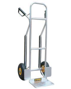 Carretilla almacen rueda neumatica aluminio ayerbe 580820