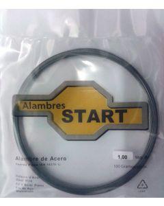 Alambre cuerda piano 0,6mm 100gr alambres start acero 100 gr al100060