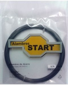 Alambre cuerda piano 0,8mm 250gr alambres start acero 250 gr al250080