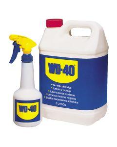 Aceite lubricante multiuso con pulverizador wd-40 5 lt