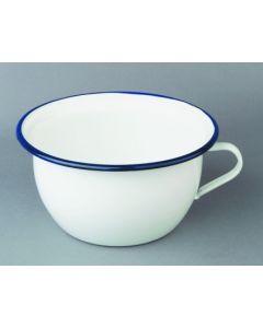 Orinal baño 24cm esmaltado blanco ibili 903524