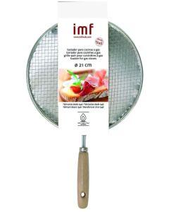 Tostador cocina gas manual reforzado 21cm tinplate 21 imf 1711