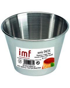 Flanero reposteria liso 07cm acero inox imf