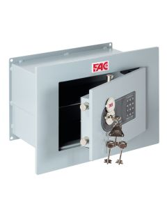 Caja fuerte seguridad empotrar 320x428x230mm 102-e plus fac