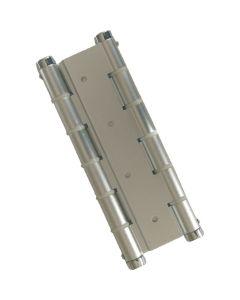 Bisagra puertas vaiven doble accion plata micel aluminio 57004