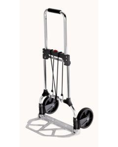 Carretilla almacen pala 340x485mm plegable rueda goma 17cm 90kg carga aluminio carrivan s11