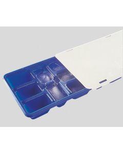 Bandeja cubitos hielo con tapa 25x10cm plastico flexib. fackelmann