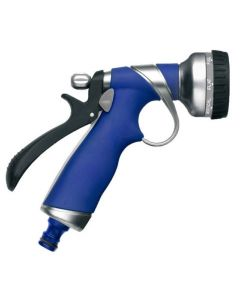 Pistola riego 8 funciones tatay metal gatillo trasero toma automatica 0051701