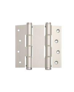 Bisagra puertas vaiven doble accion 120x40mm plata justor acero inox 5414.01 2 pz 5414.01