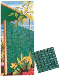 Malla ocultacion 2x100mt polietileno verde natuur nt61365       61365