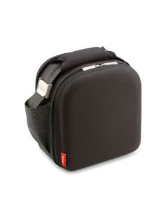 Bolsa porta alimentos 2 hermeticos poliester negro lunch bag valira 6050/115