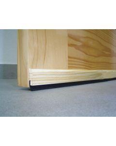 Burlete bajo puerta adhesivo cepillo 091,5cm madera pino burcasa 127380