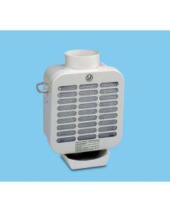 Extractor cocina centrifugo bandeja recogegrasa 350m3/h acero s&p