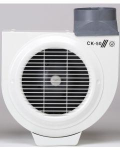 Extractor cocina centrifugo bandeja recogegrasa 480m3/h acero s&p