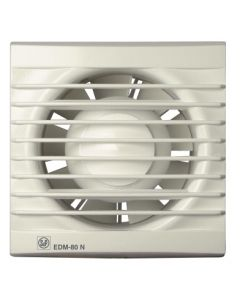Extractor baño axial 80m3/h blanco edm 80-n s&p