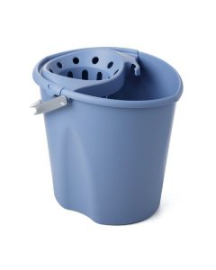 Cubo agua con escurridor tatay azul ovalado 1103300