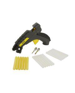 Pistola encolar termofusible con gatillo 040 w stanley