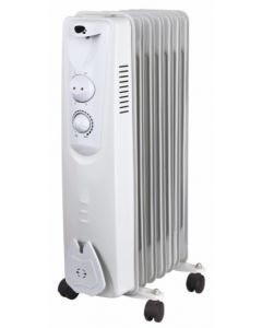 Radiador electrico aceite 07 elementos 1500w vivahogar