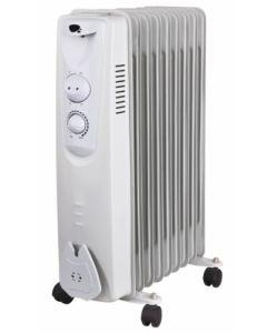 Radiador electrico aceite 09 elementos 2000w vivahogar