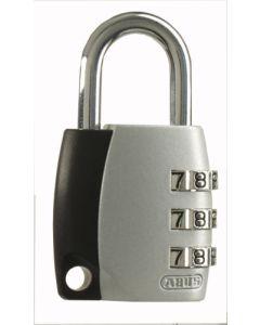 Candado seguridad combinacion programable 30mm gris abus 155/30