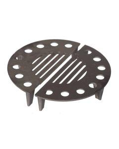 Parrilla estufa mixta 30,5cm hierro fundido nº1-2 theca 6500311