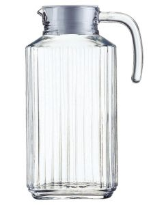 Jarra agua 1,7lt vidrio quadro luminarc