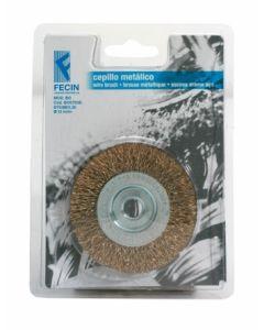 Cepillo industrial circular taladro 075x0,3 mm fecin bo0703d