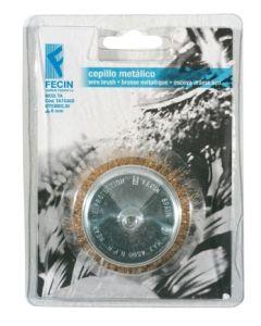 Cepillo industrial taza taladro 075 mm / 0,3 mm fecin ta7530d