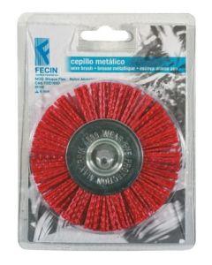 Cepillo industrial circular taladro 075 mm fecin fbe075d