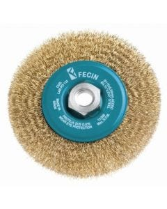 Cepillo industrial circular amoladora plano 115x0,3 mm fecin larpo115cgm14d