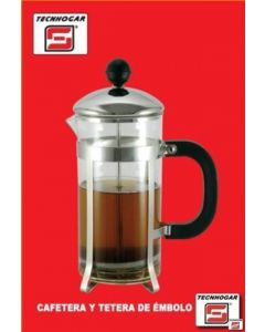 Cafetera embolo 04tz-350ml me tecnhogar