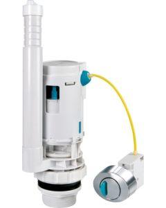 Descarga cisterna inodoro doble 2 pulsadores ahorro agua orfesa aq-103.5.00