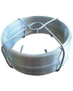 Alambre nº2 100mt 0,70mm galvanizado telas metalicas gonzalez acero 7795=b02