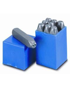 Numeracion golpe 8 mm acero nusac