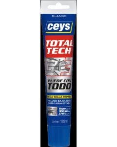 Adhesivo sellador polimero ceys 125 ml blanco 507232